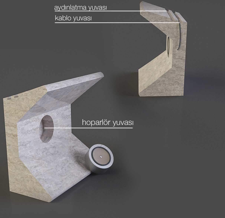 Salt, ödüllü tasarım, doğal taş tasarım yarışması, kolon mimarlık, kolon tasarım, salt , mermer duvar kaplaması