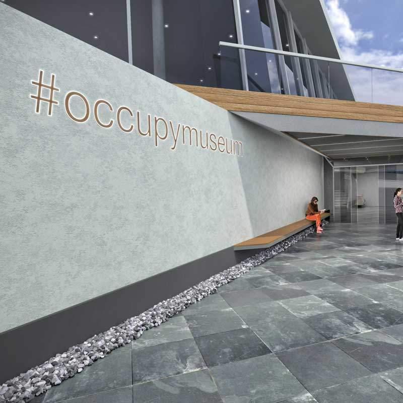 #occupymuseum,müze projesi, mimari, içmimari,museum,#occupy, museum project, müze tasarımı