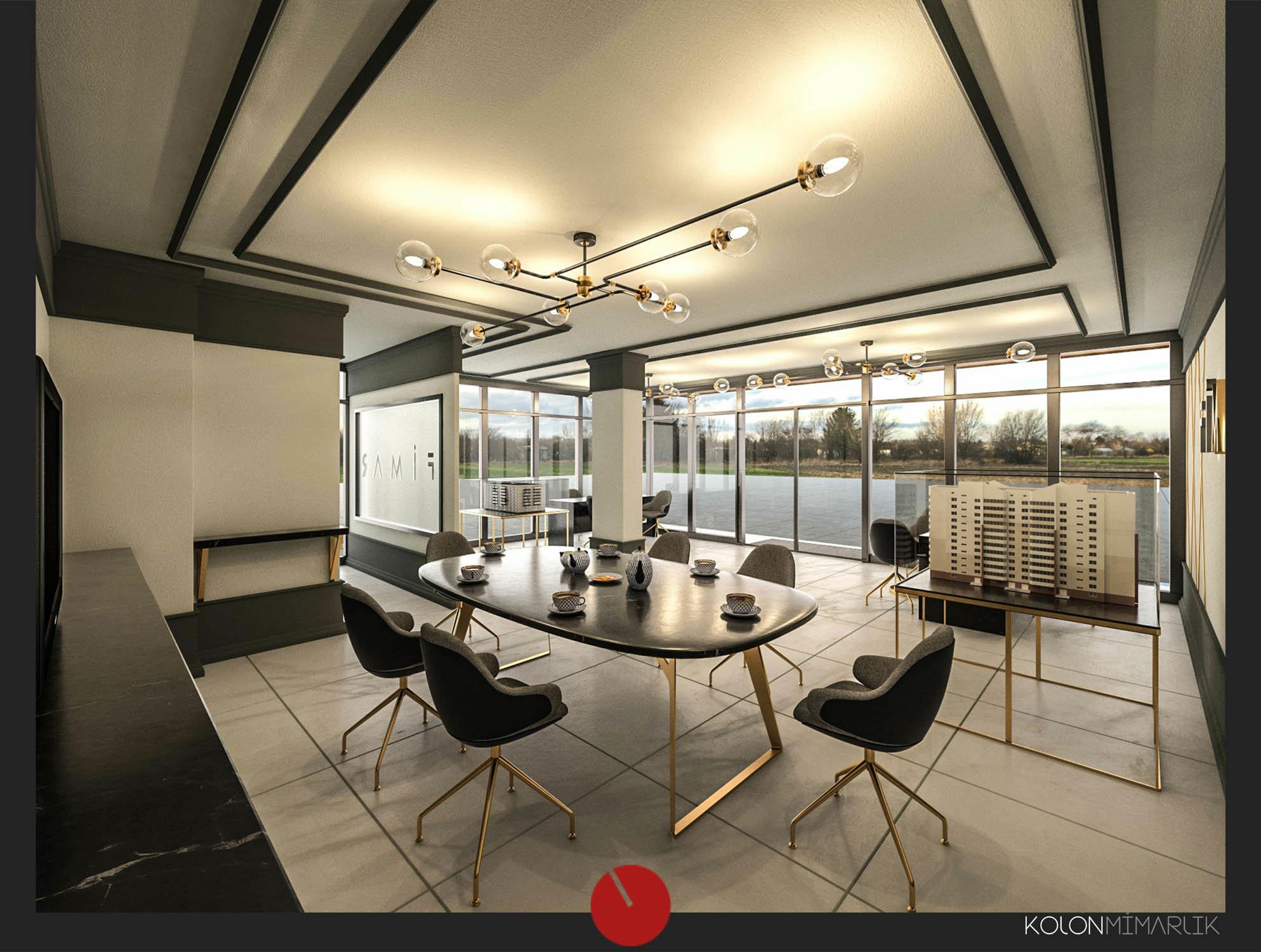 kolon,kolon mimarlık,kolon içmimarlık,tasarım,proje,uygulama,cephe tasarımı,interior design,satış ofisi tasarımı