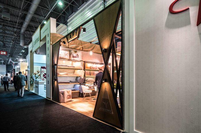 aft tekstil fuar standı tasarımı