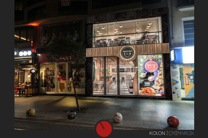 Meet Me Restaurant - Cafe İstanbul - İç Mimari Tasarımı