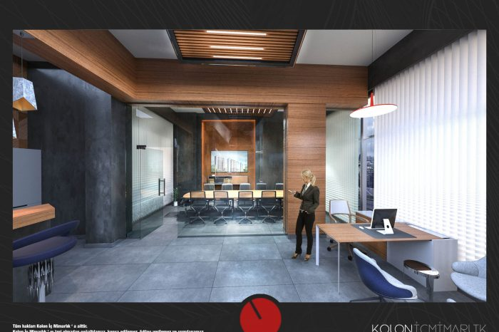 satış ofisi tasarımı